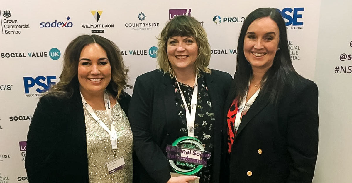 NEPRO<sup>3</sup> wins National Social Value Award